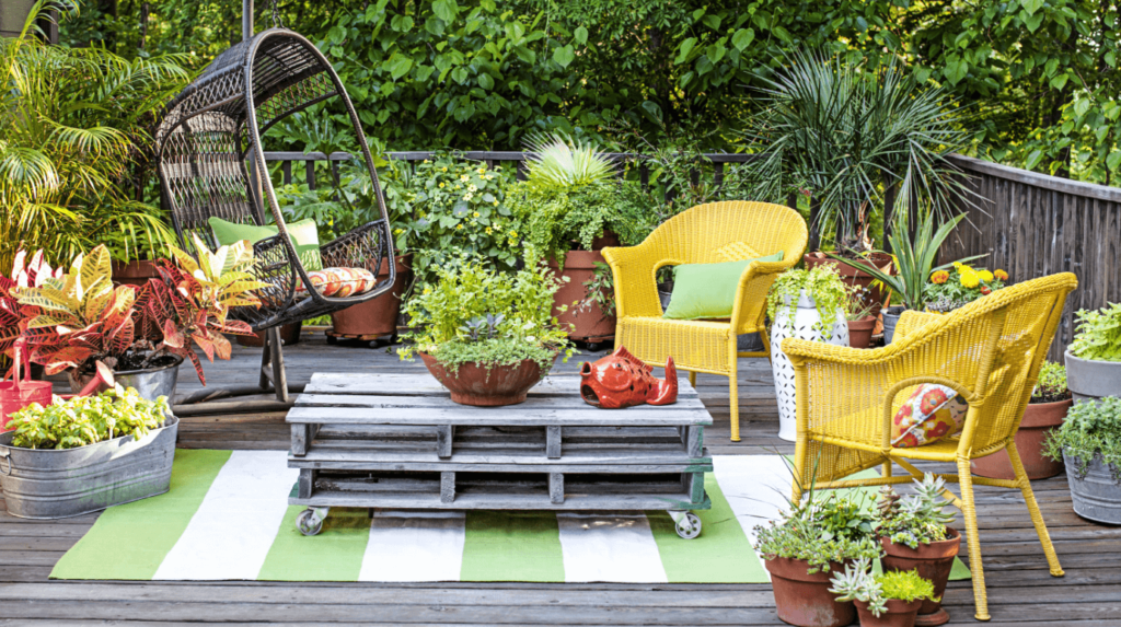 Relaxation in Your Garden